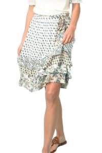 DR2 Boho Tiered Skirt - Back