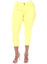Super Stretchy Denim Jeans - Plus - Back