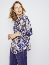 Roz & Ali Palm Floral Popover - Misses - Back