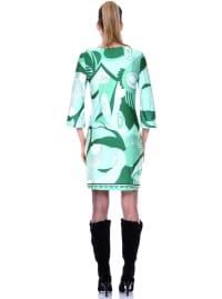 Belinda V Neck Dress - Back
