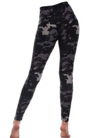 Super Soft Printed Leggings - Back