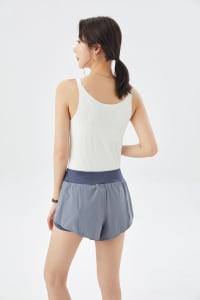 Shorts with Overlay - Back