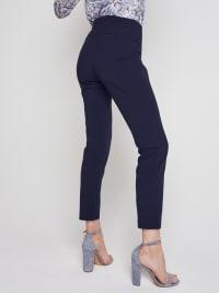 Roz & Ali Secret Agent Slim Leg Wide Waistband Pants - Back