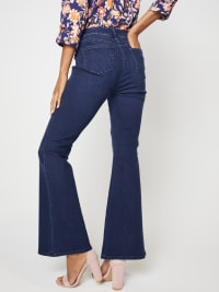 Westport Signature 5 Pocket High Rise Modern Flare Leg Jean - Back