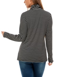 Adrienne Vittadini Two-Pack Turtleneck Tops - Back