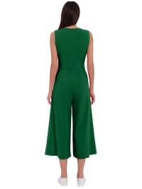 London Times Lisa Jewel Neck Wrap Jumpsuit - Back