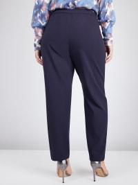 Roz & Ali Secret Agent L Pockets Pants - Average Length - Plus - Back