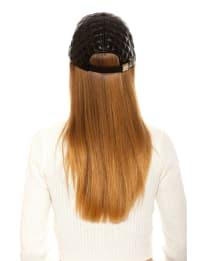 Samantha Pleather Baseball Hat - Back