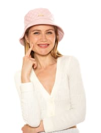 Carrie Pleather Bucket Hat - Back