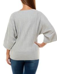 Adrienne Vittadini Elbow Sleeve Dolman Pullover - Back
