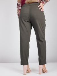 Roz & Ali Tummy Control Superstretch Pant with Cat Eye Pockets - Plus - Back