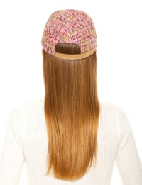 Jasmine Tweed Baseball Cap - Back