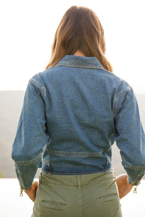 A. Helm ACL Blue Jean Jacket - Back