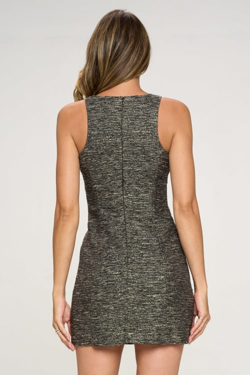 KAII Zipper Pochet Tropez Dress - Back