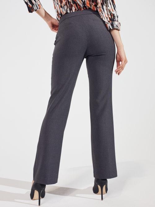 Roz & Ali Secret Agent Slight Bootcut Pants - Petite - Back