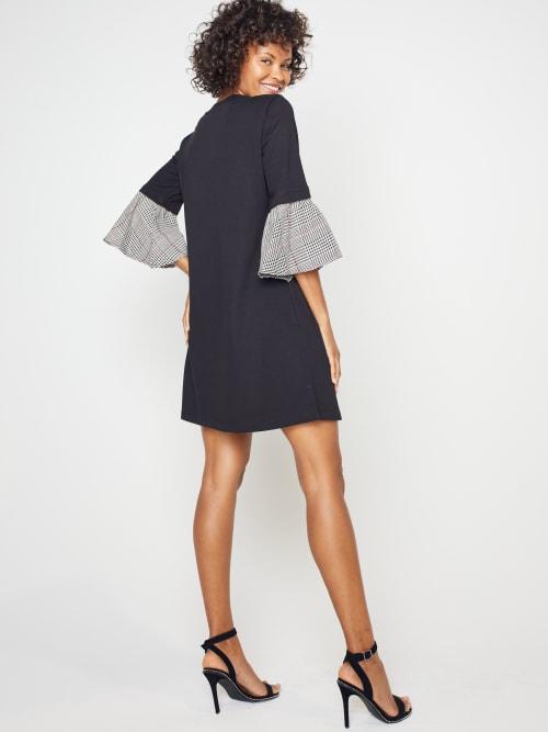 Knit Sheath Dress - Back