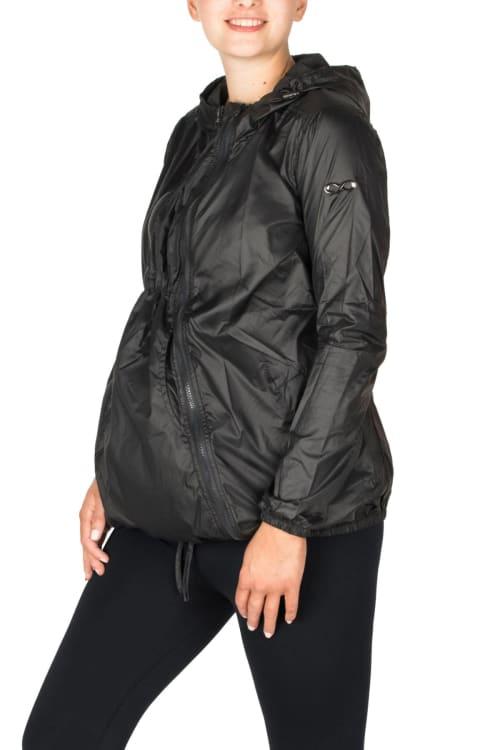 Modern Eternity Ciara Maternity 3 in 1 Waterproof Windbreaker Jacket - Back