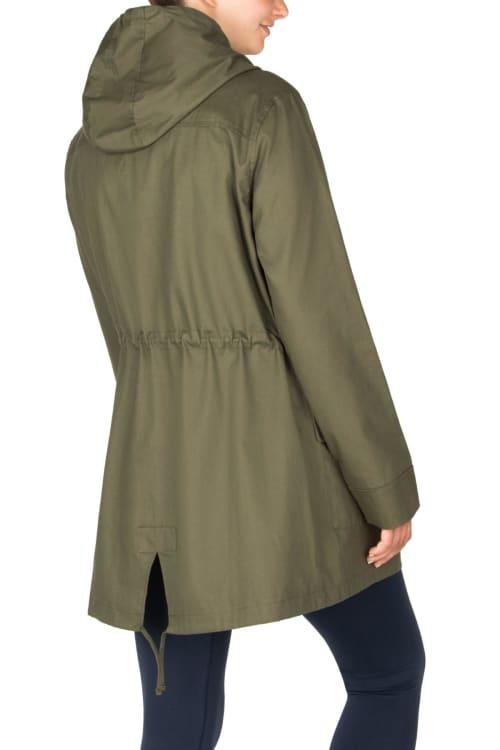 Modern Eternity Lara Maternity 3 in 1 Military Style Jacket - Back