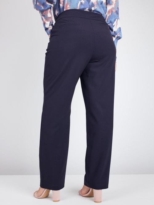 Roz & Ali Secret Agent Pants Cateye Rivets - Average Length - Plus - Back