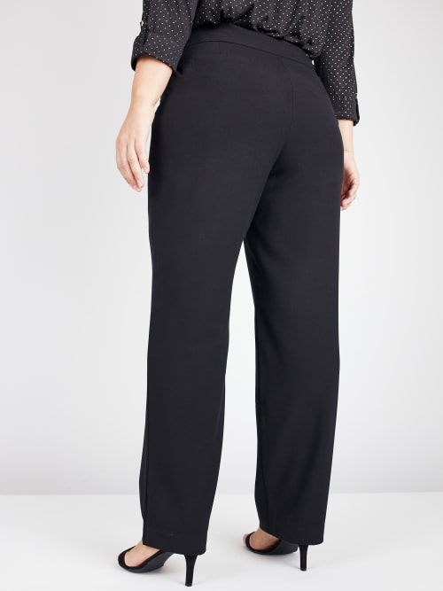 Roz & Ali Secret Agent Pants Cateye Rivet - Short Length - Plus - Back