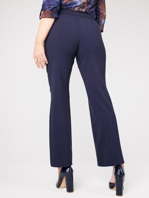 Roz & Ali Secret Agent Tummy Control Pants - Short Length - Back