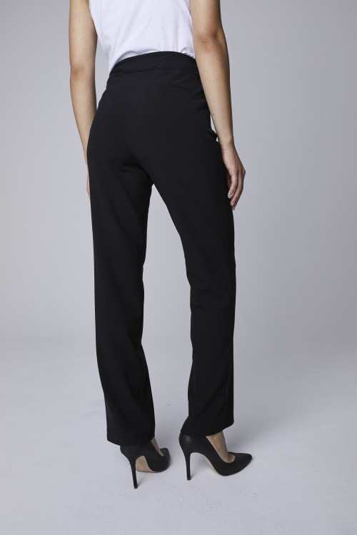 Roz & Ali Secret Agent Pants Cateye Rivet - Short Length - Back