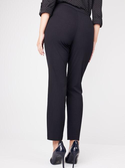 Roz & Ali Secret Agent L Pockets Pants - Petite - Back
