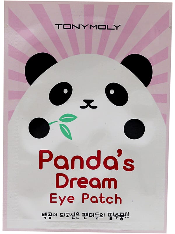 Tonymoly Women's Panda's Dream Eye Patch Mask - Pink - Front