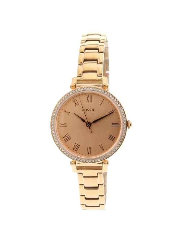 Fossil Women's Kinsey Rose-Gold Stainless-Steel Japanese Quartz Fashion Watch