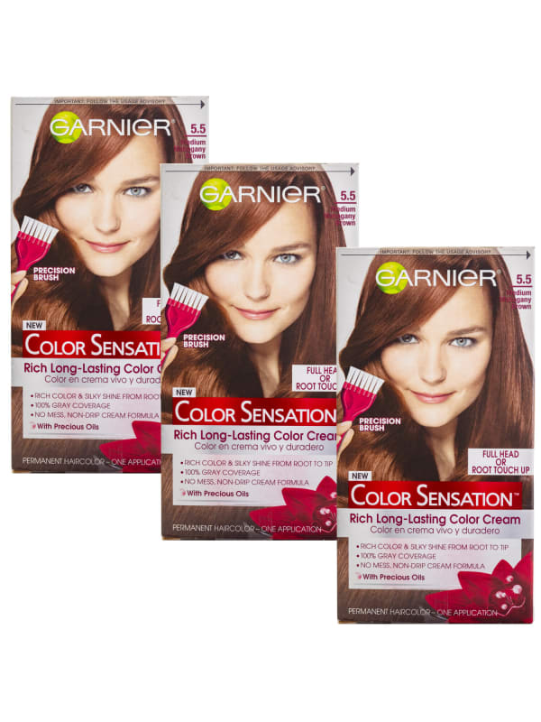 Garnier Women's Color Sensation 3 Pack