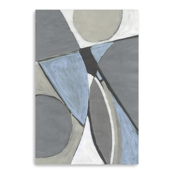 A Soft Jeweles Geometric I Canvas Giclee