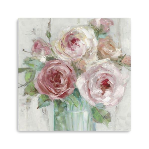 Cottage Bouquet Canvas Giclee