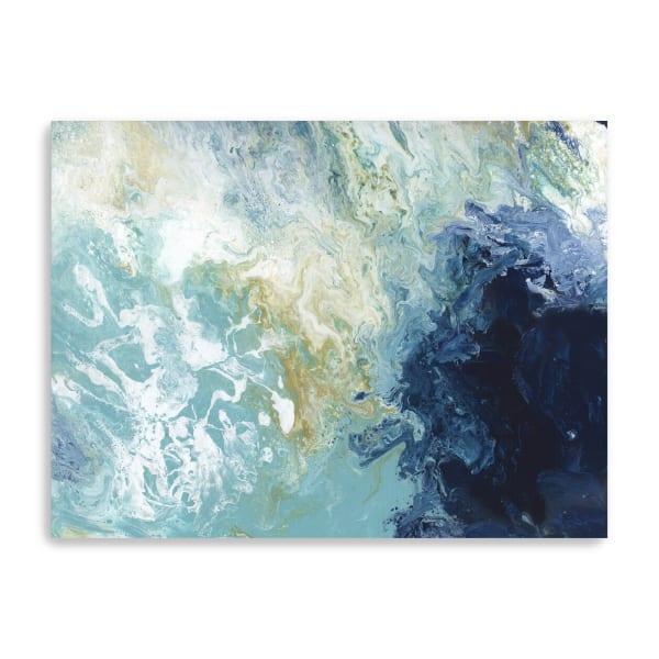 Ocean Flow Canvas Giclee