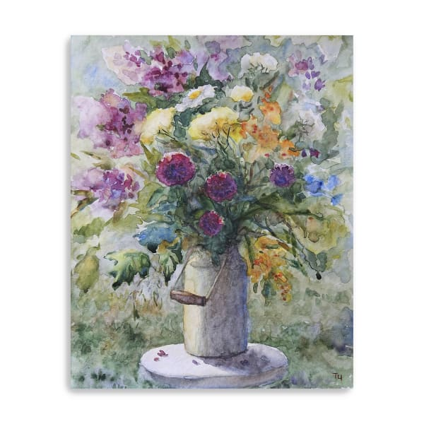 Spring Blooms Canvas Giclee