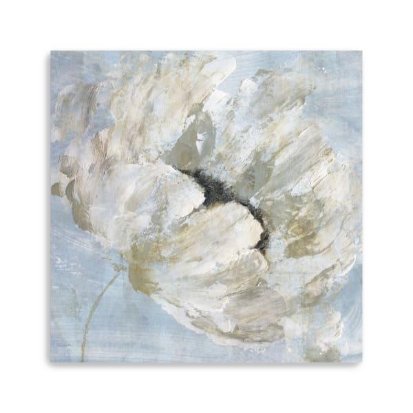 Blue Blanc I Canvas Giclee