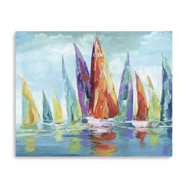 Fine Day Sailing I Canvas Giclee