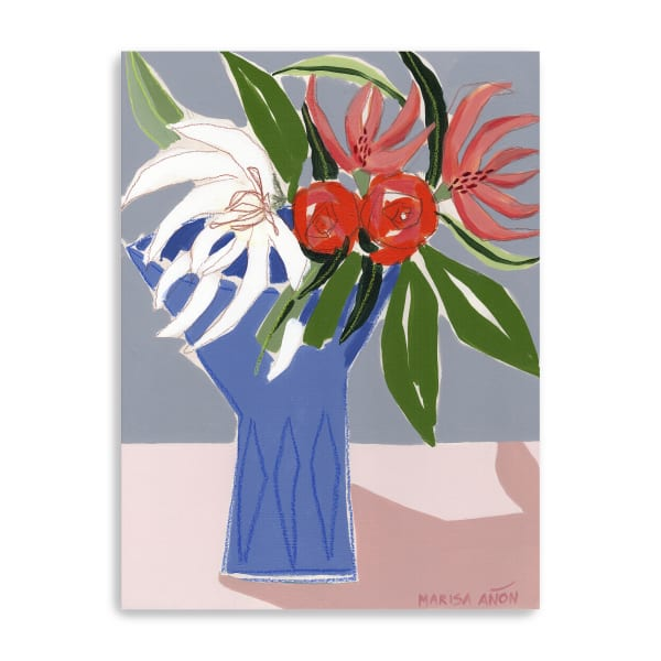 Spring Florals 10 Canvas Giclee