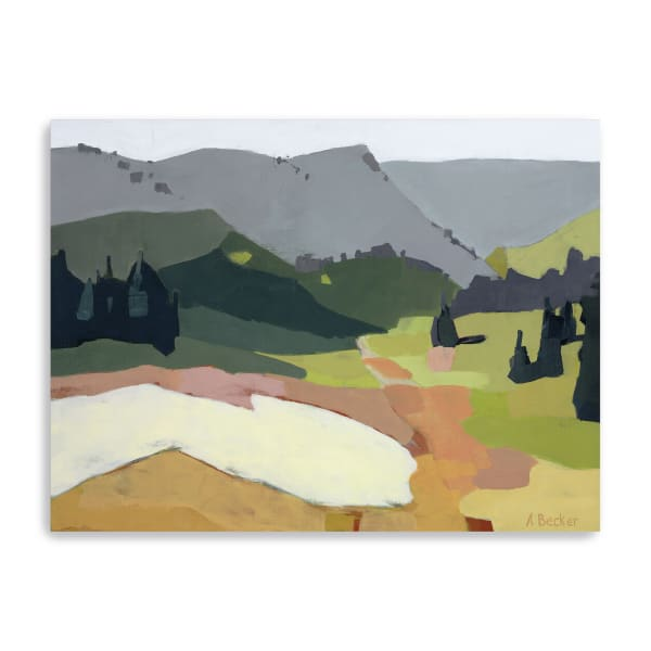 Snow Patch Canvas Giclee