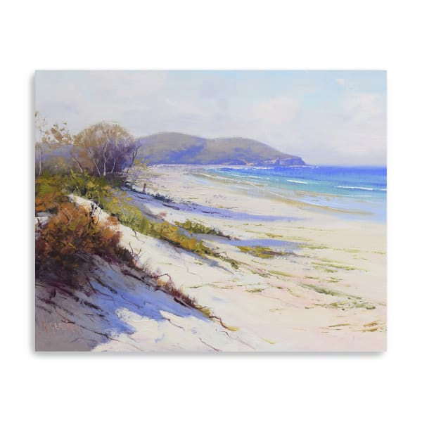 Port Stephans Beach Sands Canvas Giclee