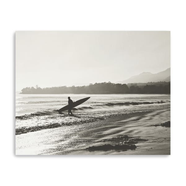 BW Surfer No. 3 Canvas Giclee