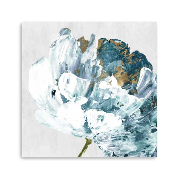 Rhinestone Flower I Canvas Giclee