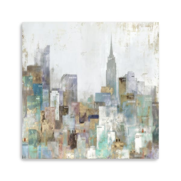 City Bliss Canvas Giclee