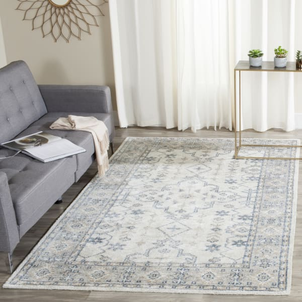 Safavieh Palace Ivory & Blue Rug