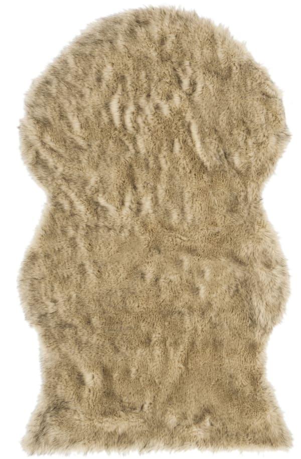 Safavieh Casey Gray Faux Sheep Skin 3'x5' Rug