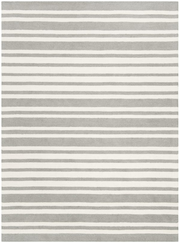 Safavieh Gray Striped  Rug