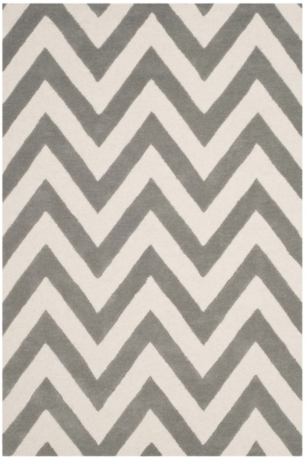 Safavieh Gray Chevron Rug