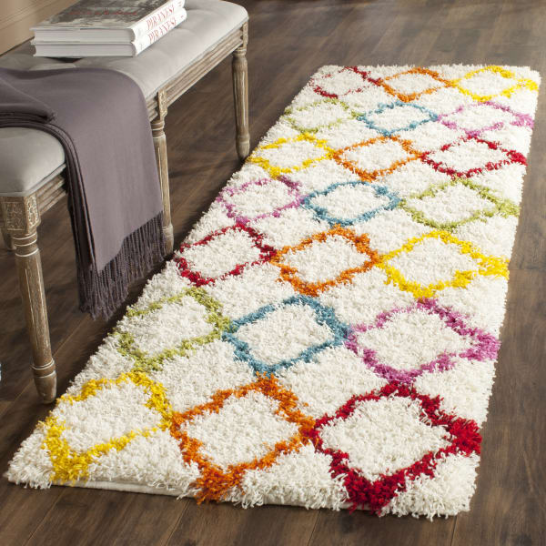 Safavieh Layla Multicolored Quatrefoil Rug