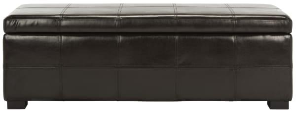 Safavieh Large Brown Marilyn Storage Bench