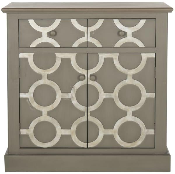 Safavieh Gray Oliver Cabinet