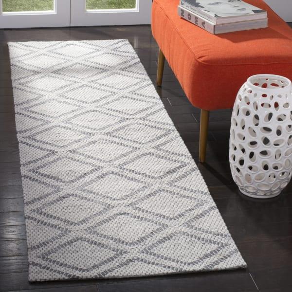 Silver Wool Rug